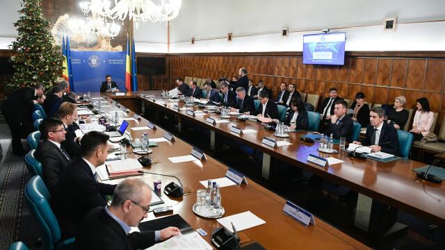 Ultima ședință de Guvern din 2019. Bugetul ar putea intra în vigoare pe 6 ianuarie