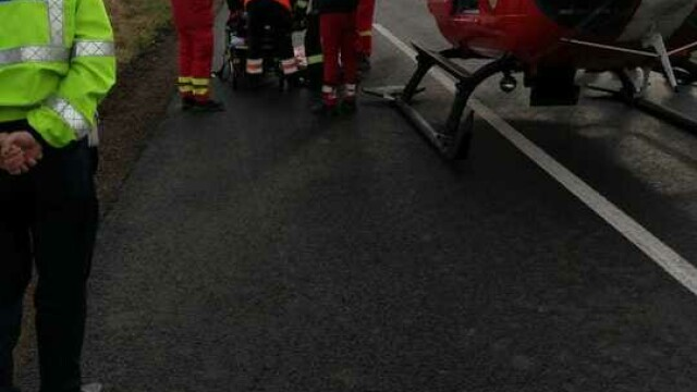 Accident grav în județul Timiș. O persoană a murit și o alta a fost preluată de SMURD - Imaginea 1