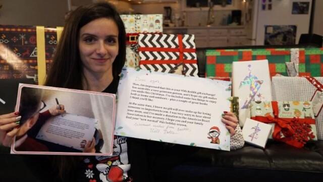 Tânăra care a avut parte de o supriză uriașă de Secret Santa. Cadourile primite de la Bill Gates - Imaginea 2