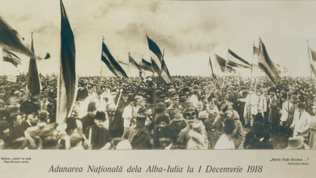 1 decembrie, Ziua Națională a României. Cum a fost înfăptuită Marea Unire de la 1918
