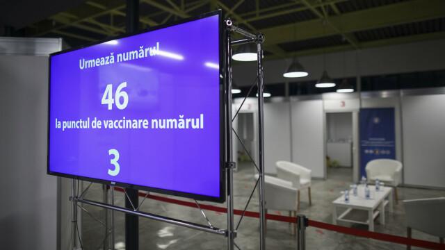 Cum arată primul centru de vaccinare anti-Covid-19 din România