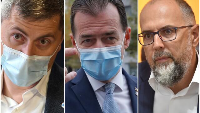 Negocieri pentru un nou Guvern. USR-PLUS respinge ideea revenirii lui Orban ca premier, la fel și unii liberali