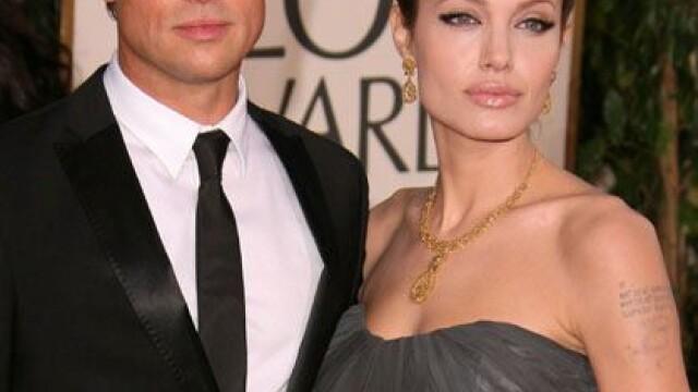 Pitt impreuna cu Jolie la Globurile de Aur
