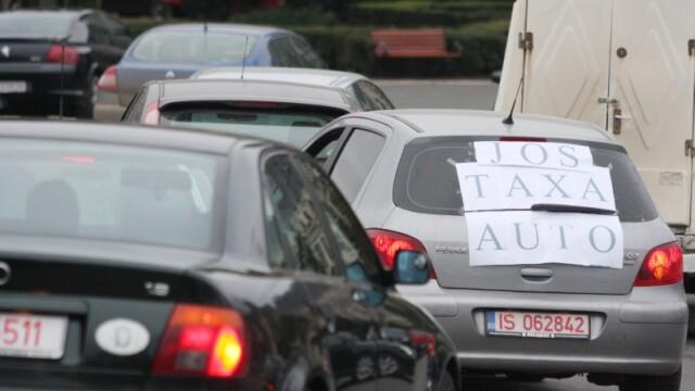 Protest taxa auto