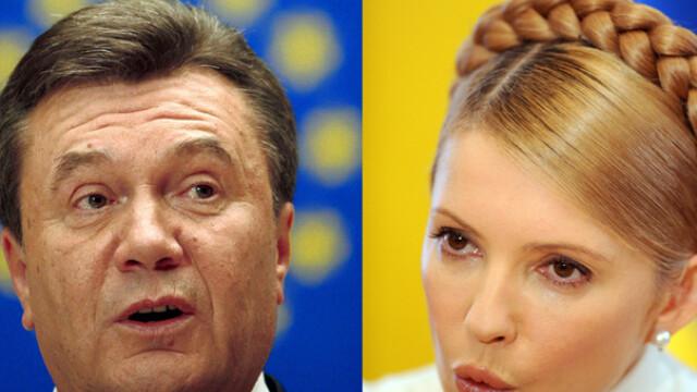 Viktor Ianukovici vs Iulia Timosenko! In asteptarea viitorului presedinte