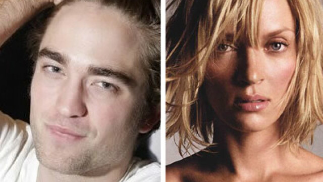 Robert Pattinson, Uma Thurman