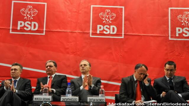 Noua candidati se lupta in cursa pentru sefia PSD