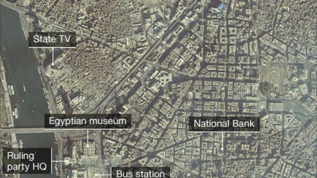 Egiptenii s-au batut cu egiptenii. Zi sangeroasa, din cauza lui Mubarak - Imaginea 22