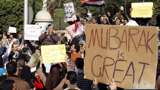 Egiptenii s-au batut cu egiptenii. Zi sangeroasa, din cauza lui Mubarak - Imaginea 15