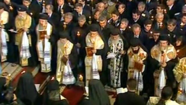 Mii de oameni au participat la inmormantarea IPS Bartolomeu Anania. Video - Imaginea 22