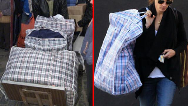 Julia Roberts si-a luat geanta a la Bucur Obor: plasa de rafie. FOTO - Imaginea 3