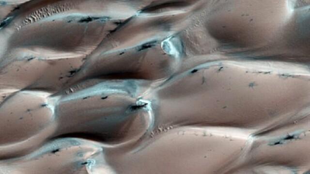 Avalansa pe Marte. Marea de nisip se misca exact ca pe Terra - Imaginea 3