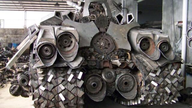 Un fierar chinez l-a adus la viata pe Megatron din Transformers 2. FOTO - Imaginea 4