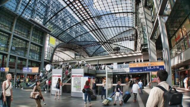 Gara Centrala din Berlin, Germania