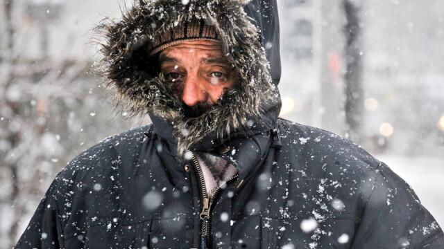 Gerul cumplit a pus stapanire pe Romania. Temperaturile au scazut pana la -26 de grade joi noapte