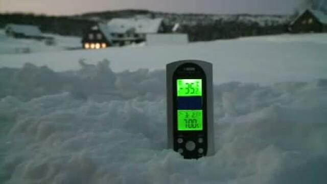 termometru, -35 grade, ger