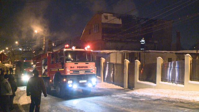 Incendiu in Cluj-Napoca