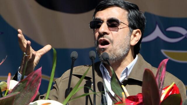 Presedintele iranian toarna gaz pe foc: \