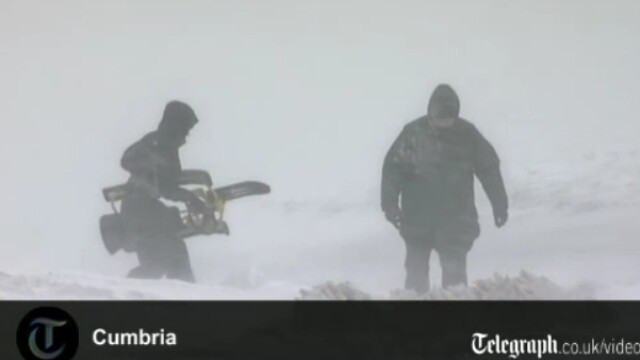 ninsoare Anglia