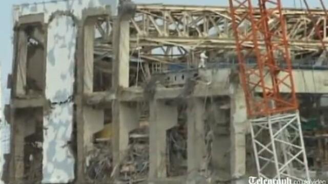 centrala nucleara Fukushima, ruine