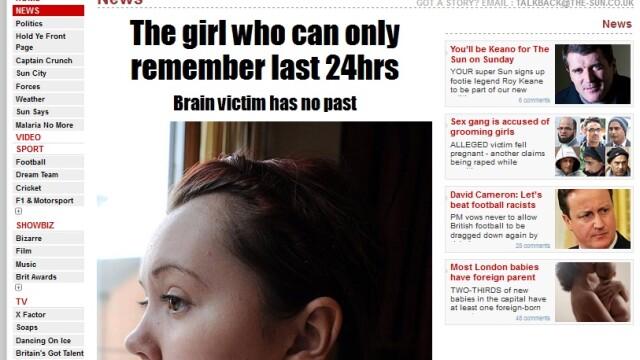 Femeia fara trecut. Povestea dramatica a tinerei care isi ia viata de la 0 in fiecare zi