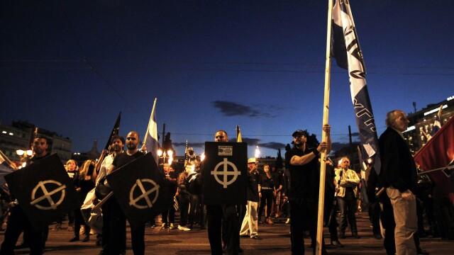 Ascensiunea raului. Tot mai multi tineri din Grecia sunt atrasi de partidul neo-nazist Zorii Aurii - Imaginea 3