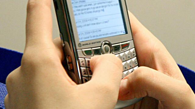 telefon, sms