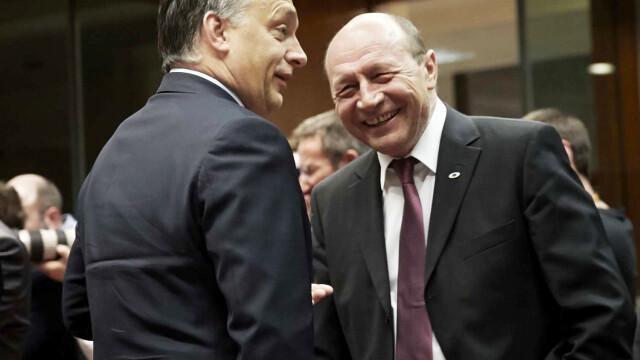 Basescu, intrebat de ce circula liber Viktor Orban in Covasna, Harghita: \
