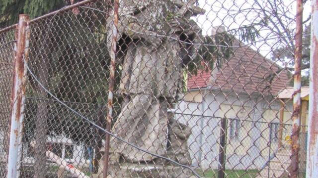 Cel mai vechi monument din Timisoara, mutat in Piata Romanilor. Istoria statuii Sfantului Nepomuk