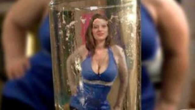 Cum se vede o femeie printr-un pahar cu bere. Imaginea controversata a unui pub din Scotia