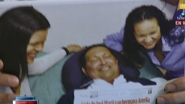 Guvernul din Venezuela a difuzat primele imagini cu Hugo Chavez pe patul de spital - Imaginea 2