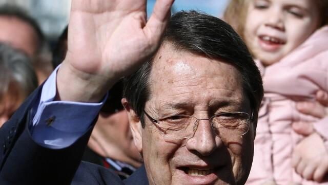 Nicos Anastasiades castiga primul tur de scrutin in R.Cipru, dar nu are peste 50% din voturi