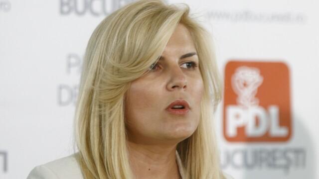 Elena Udrea: Miscarea Populara va fi un partid de succes. PDL nu trebuie sa-i fie adversar