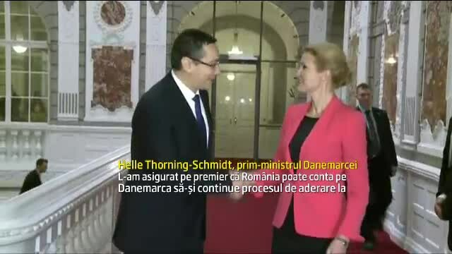Premierul danez: \