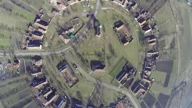 Cum arata singurul sat sub forma de cerc din Romania. Ministerul Culturii l-a declarat sit istoric - Imaginea 1