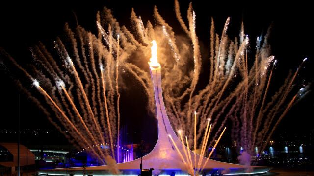 Jocurile Olimpice de la Soci, cele mai tari momente de la deschidere. Televiziunea rusa a mascat eroarea cercurilor olimpice
