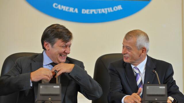 Crin Antonescu si Sorin Oprescu