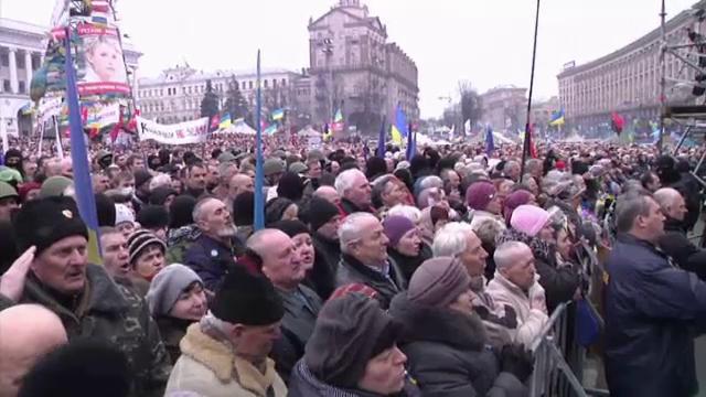 Kiev, proteste