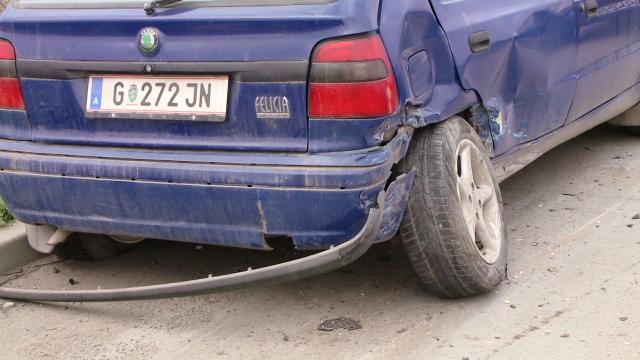 Accident pe Calea Sagului, la Timisoara. Trei masini s-au ciocnit violent, nici o persoana nu a fost ranita - Imaginea 3