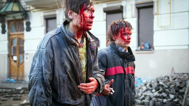 Chipurile insangerate ale revolutiei din Ucraina. Imaginile dure si impresionante ale unui reporter din Kiev