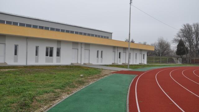 O sala de gimnastica dotata cu echipamente de nivel olimpic a fost inaugurata in Arad. FOTO - Imaginea 2
