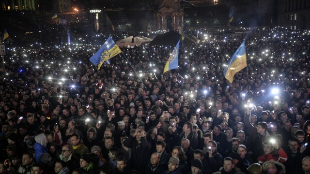 Ucraina are un presedinte interimar: Aleksandr Turcinov. Ce i-a spus Angela Merkel la telefon Iuliei Timosenko - Imaginea 11