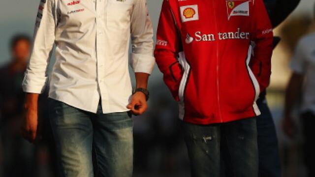 Felipe Massa l-a vizitat la spital pe Michael Schumacher: \