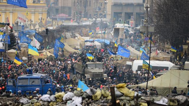 Ucraina are un presedinte interimar: Aleksandr Turcinov. Ce i-a spus Angela Merkel la telefon Iuliei Timosenko - Imaginea 18