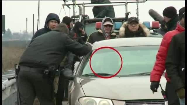 Actiunea de la Hollywood s-a mutat marti pe Autostrada A3 Bucuresti-Ploiesti. Nicolas Cage a blocat traficul pentru noua ore