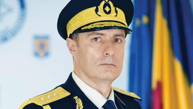 Florian Coldea in uniforma