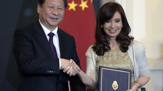 Cristina Kirchner si Xi Jinping
