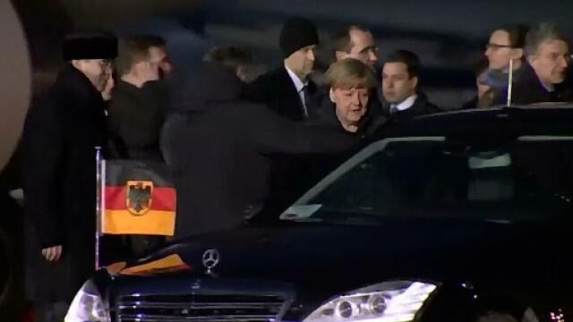 Angela Merkel ii prezinta lui Barack Obama detaliile planului franco-german de a aduce pacea in Ucraina