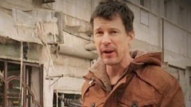 Noua inregistrare a gruparii Stat Islamic. Ostaticul John Cantlie transmite din Alep: \