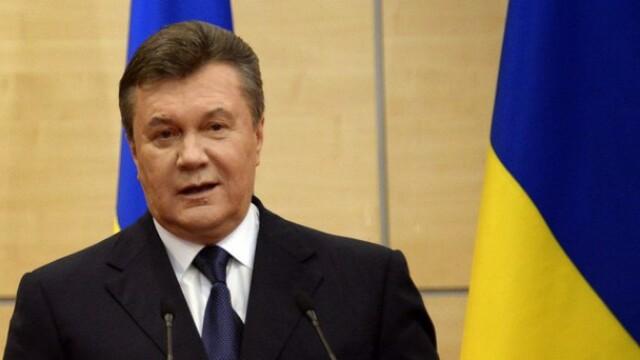 Ianukovici vrea sa revina in Ucraina ca sa puna capat crizei: Daca Dumnezeu m-a lasat in viata, poate mai e nevoie de mine